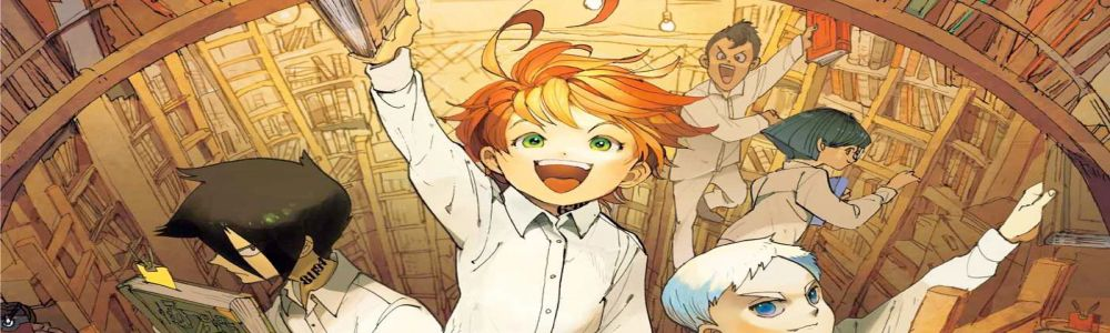 bannière The promised neverland : bientôt une adaptation en anime !
