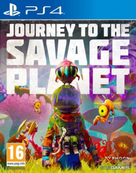 couverture jeux-video Journey to the Savage Planet