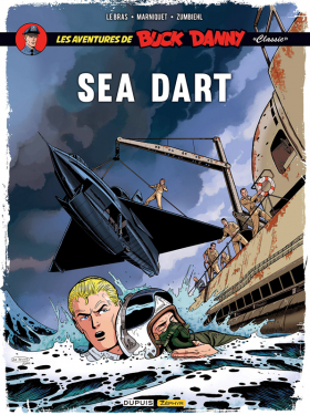 couverture bande dessinée Sea Dart