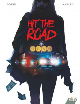 couverture bande dessinée Hit the road
