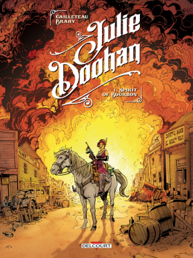 couverture bande dessinée Spirit of bourbon