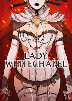 couverture bande dessinée Lady Whitechapel T1