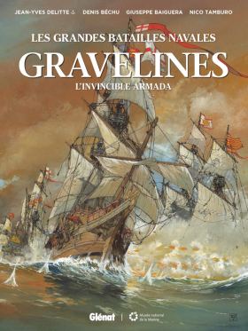 couverture bande dessinée Graveline - L'Invincible Armada