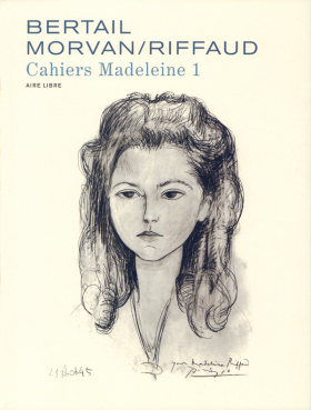 couverture bande dessinée Madeleine, cahiers 1
