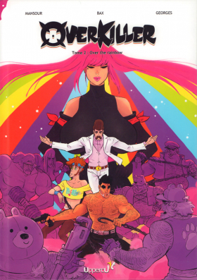 couverture bande dessinée Over the rainbow