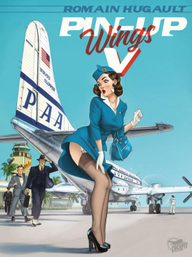 couverture bande dessinée Pin-Up Wings T5