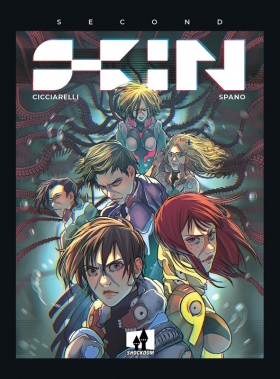 couverture bande dessinée Second skin