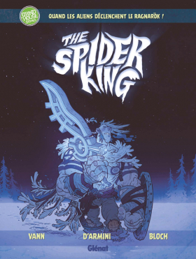 couverture bande dessinée Spider King