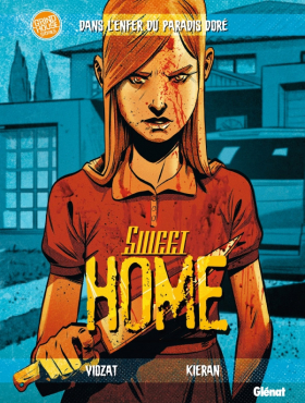couverture bande dessinée Sweet Home
