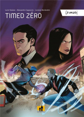 couverture bande dessinée Timed zero