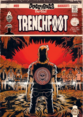 couverture bande dessinée Trenchfoot