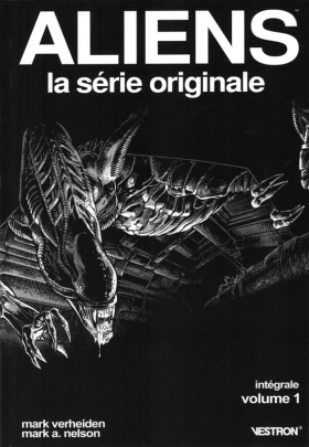 couverture comic Aliens : La série Originale T1
