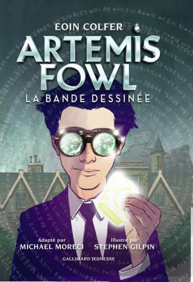 couverture comics Artemis Fowl