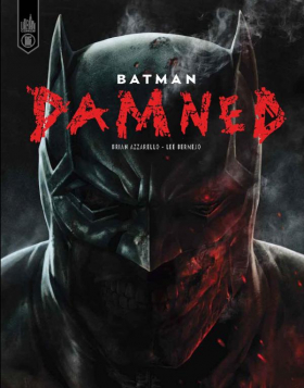 couverture comics Batman Damned