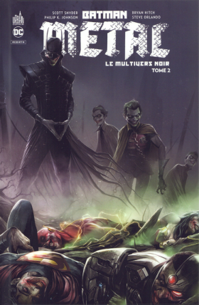 couverture comics Batman métal : le multivers noir T2