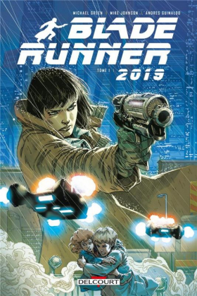 couverture comics Blade Runner 2019 T1