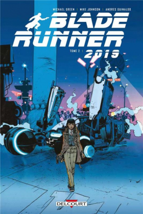 couverture comics Blade Runner 2019 T2