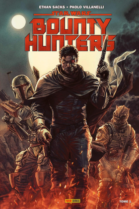 couverture comic Bounty Hunters  T1