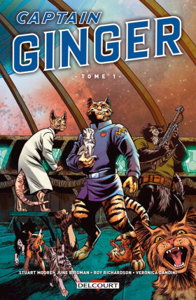 couverture comics Captain Ginger