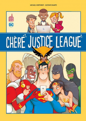 couverture comic Chère Justice League