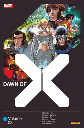 couverture comic Dawn of X T3