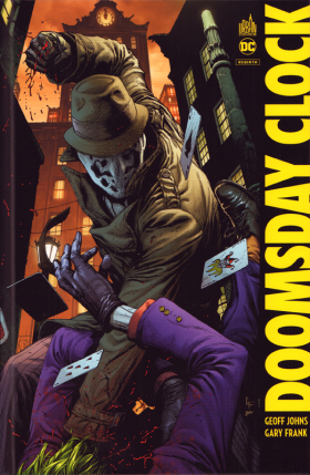 couverture comic Doomsday clock