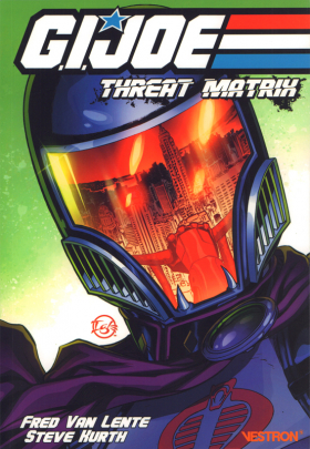 couverture comic Threat Matrix