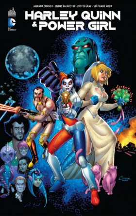 couverture comics Harley Quinn & Power Girl