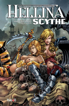 couverture comics Hellina Scythe