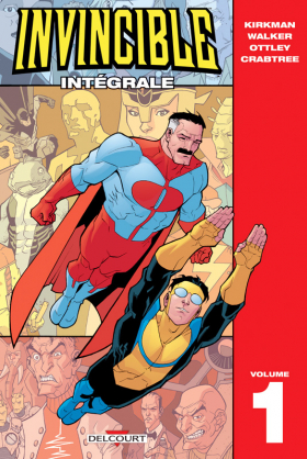 couverture comic Invincible T1