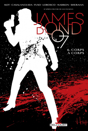 couverture comics Casino Royale
