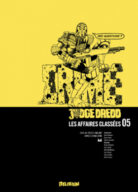 couverture comic Judge Dredd - Affaires Classées T5