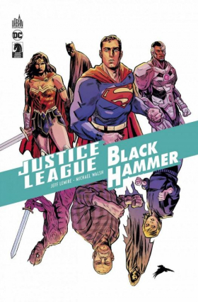 couverture comic Justice League/ Black Hammer