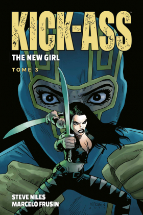 couverture comic Kick Ass The new girl  T3