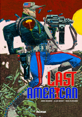 couverture comic Last American