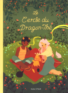 couverture comic Le Cercle du dragon-thé