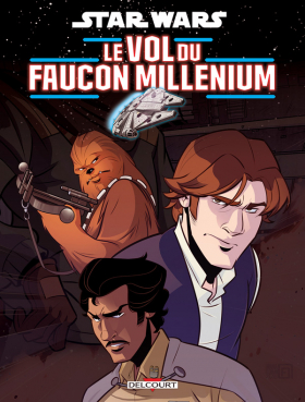 couverture comic Le vol du Faucon Millenium