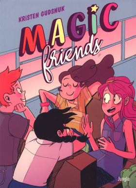 couverture comics Magic friends