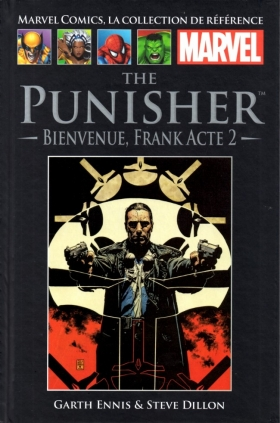 couverture comics The Punisher - Bienvenue, Frank (acte 2)