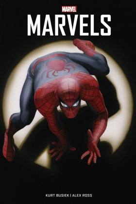 couverture comic Marvels