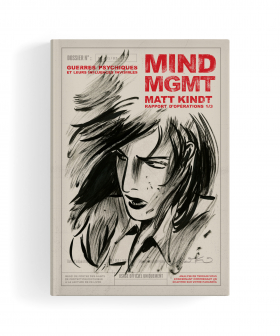 couverture comic Mind MGMT