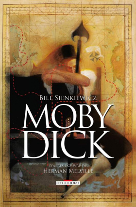 couverture comics Moby Dick (Delcourt Comics)