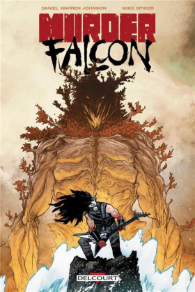 couverture comic Murder Falcon