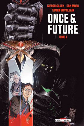 couverture comics Once and Future T1