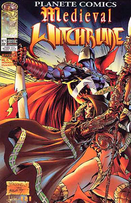 couverture comic Medieval Witchblade (kiosque)