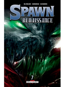 couverture comic Spawn Renaissance T7