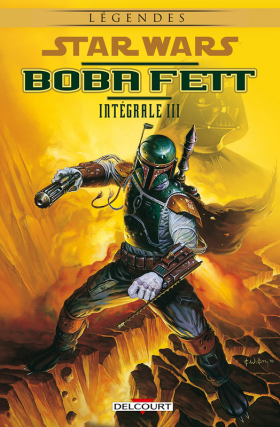 couverture comics Star Wars - Boba Fett T3