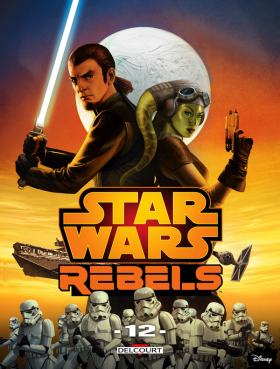 couverture comic Star Wars Rebels T12