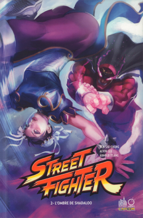 couverture comic L'ombre de Shadaloo
