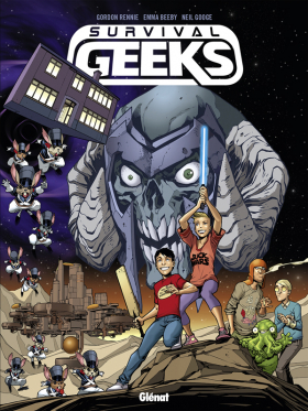 couverture comic Survival Geeks